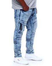 Jeans & Pants - Moto Jean W/ Knee Treatment (B&T)-2411650