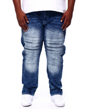 Jeans & Pants - Moto Denim Pants (B&T)-2419694