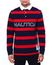 Mens-Fall - LS STRIPE RUGBY-2421660