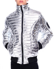Mens-Fall - Metallic Padded Jacket-2421019