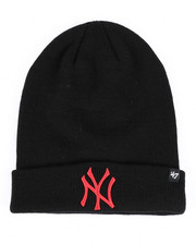 Accessories - New York Yankees Raised Cuff Knit Beanie-2421701