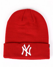 Accessories - New York Yankees Raised Cuff Knit Beanie-2421726