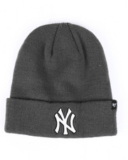 Accessories - New York Yankees Raised Cuff Knit Beanie-2421707