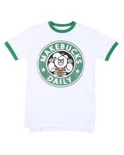 Sizes 8-20 - Big Kids - MakeBucks S/S Tee (8-20)-2421571