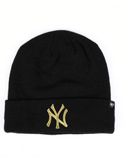 Accessories - New York Yankees Metallic Cuff Knit Beanie-2421744