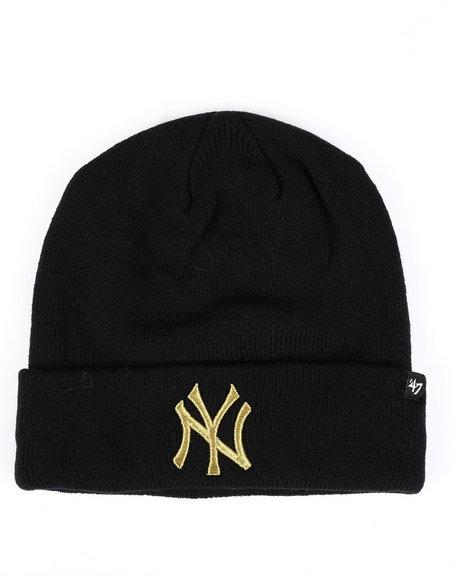 '47 - New York Yankees Metallic Cuff Knit Beanie