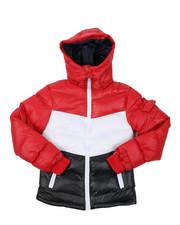 Sizes 8-20 - Big Kids - Nylon Bubble Jacket (8-20)-2422258