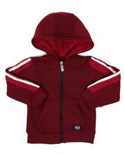 Hoodies - Full Zip Fleece Hoodie W/ Poly Taped (2T-4T)-2421594