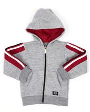 Hoodies - Full Zip Fleece Hoodie W/ Poly Taped (2T-4T)-2421590