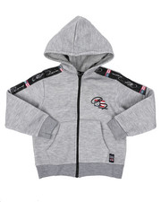 Hoodies - Full Zip Fleece Hoodie W/ Poly Taped (4-7)-2421634