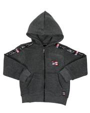 Phat Farm - Full Zip Fleece Hoodie W/ Poly Taped (4-7)-2421624