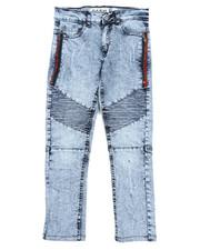 Sizes 8-20 - Big Kids - Stretch Biker Jeans (8-20) -2422225