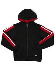 Sizes 8-20 - Big Kids - Full Zip Fleece Hoodie W/ Poly Taped (8-20)-2422121