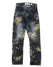 Arcade Styles - Gold Rush Denim Jeans (8-20)-2422196