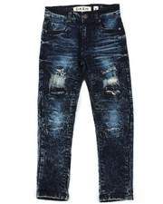 Arcade Styles - Rip & Repaired  Stretch Jeans (8-20)-2422204