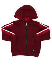 Hoodies - Full Zip Fleece Hoodie W/ Poly Taped (4-7)-2422136