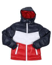 Arcade Styles - Nylon Bubble Jacket (8-20)-2422293