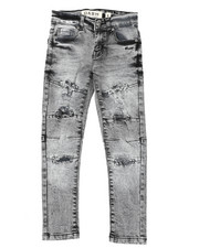 Arcade Styles - Rip & Repaired  Stretch Jeans (8-20)-2422211
