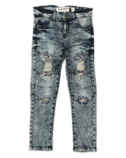 Arcade Styles - Rip & Repaired  Stretch Jeans (8-20)-2422218