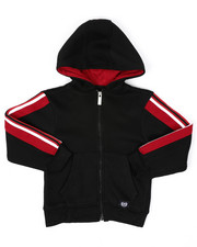 Hoodies - Full Zip Fleece Hoodie W/ Poly Taped (4-7)-2422141