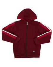 Hoodies - Full Zip Fleece Hoodie W/ Poly Taped (8-20)-2422146