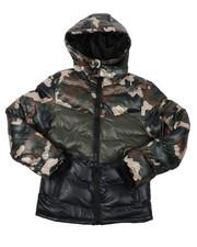 Sizes 8-20 - Big Kids - Nylon Bubble Jacket (8-20)-2422253