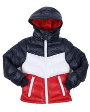 Boys - Nylon Bubble Jacket (4-7)-2422553