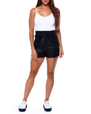 Almost Famous - Cami Paperbag Romper-2422025