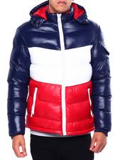 Outerwear - CHEVRON PUFFER COAT-2422678