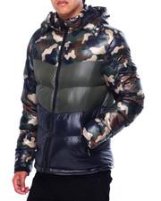 Outerwear - CHEVRON PUFFER COAT-2422683