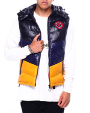 Vests - Colorblock Hooded Vest-2422706