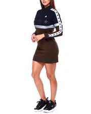 Black Pyramid - Logo Tape Track Dress-2422777