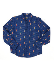 Button-downs - Holiday Long Sleeve Woven Shirt (8-20)-2422842