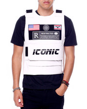 Men - PU Restricted Icon Vest-2416018
