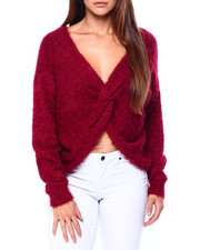 Tops - Reversible L/S Knot Vnk Pullover-2420771