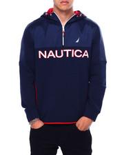 Nautica - COLORBLOCK HALF ZIP FLEECE-2422654