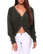 Tops - Reversible L/S Knot Vnk Pullover-2420767