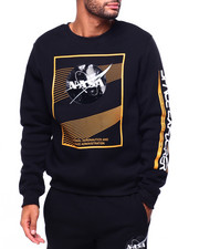 Athleisure for Men - Nasa Gel Detail Crewneck Sweatshirt-2423404