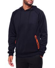Men - Neon Detail Popover Hoodie-2423398