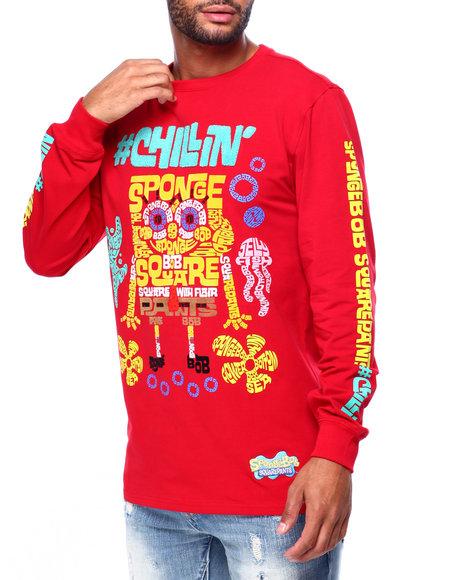 Freeze Max - Sponge Bob Words LS Shirt