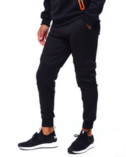 Athleisure for Men - Solid Jogger w Rubber Side Zipper-2423499