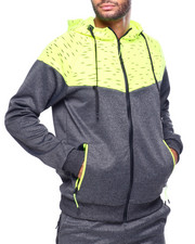 Athleisure for Men - Space Dyed Zip Hoodie-2423453
