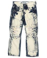 Arcade Styles - Moto Denim Jeans (4-7)-2423688