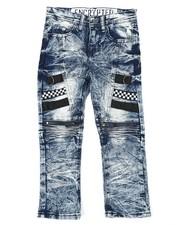 Arcade Styles - Moto Denim Jeans (4-7)-2423680