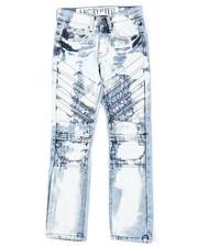 Arcade Styles - Moto Denim Jeans (8-18)-2423750