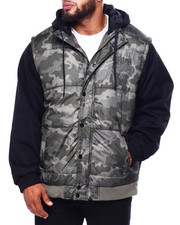 Big & Tall Faves - Jacket W/Hoody (B&T)-2424042