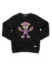 Hudson NYC - Zombie Brain Bear Crew Neck Sweatshirt (8-18)-2423367