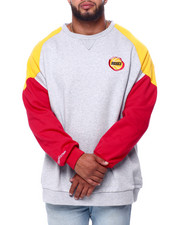 Mitchell & Ness - Rockets L/S Fleece Crew (B&T)-2423211