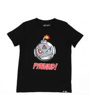 Black Pyramid - Pyramid Bomb T-Shirt (8-18)-2423298
