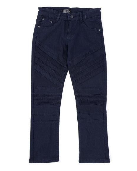 Parish - Stretch Color Twill Moto Pants (8-18)